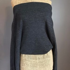 Free People Open Shoulder Sweater